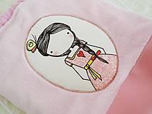 Detské tašky - Mäkký batôžtek - ružový - 10321546_