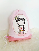 Detské tašky - Mäkký batôžtek - ružový - 10322266_