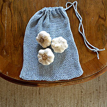 Úžitkový textil - Eko vrecko...svetlomodré - 10323900_