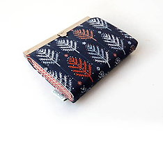 Peňaženky - Peňaženka s priehradkami  Modrý les - 10322527_