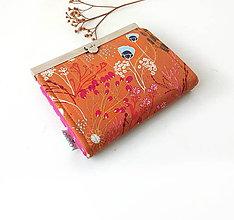 Peňaženky - Peňaženka s priehradkami Škoricová lúka - 10322584_