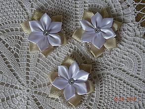 Náramky - Zlato -  biely náramok - 10323426_