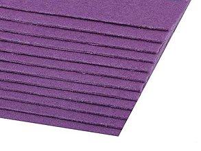 Textil - Filc 20x30 cm hr.1,5 - 2 mm (fialový) - 10320816_