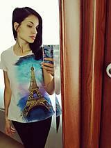 Tričká - Tričko Paris - 10321471_