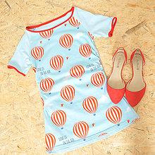 Tehotenské/Na dojčenie - Těhotenské triko Alex s balóny, vel. S - 10321159_