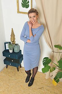 """Šaty - """"Rastúce"""" tehotenské i netehotenské - nachové - 10321173_"""