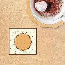 Dekorácie - Stracciatella potlač na koláčik - sušienka - 10323383_