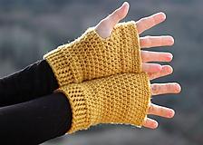 Rukavice - ☼...kúsok slniečka na rukavičke...☼ - 10325528_