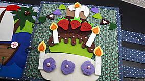 Detské doplnky - Torta - 10327578_