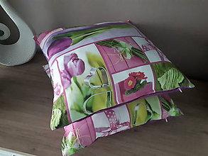 Úžitkový textil - Jarné obliečky na vankuše - 10327397_