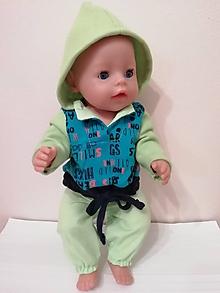 Hračky - Oblečenie pre bábiku Baby born v 43 cm - 10327913_