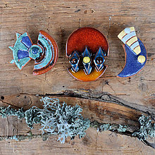 Odznaky/Brošne - brošna keramická - 10327118_