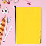 Papiernictvo - MADEBOOK - zošit A5 žltý - 10327617_