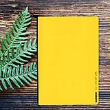 Papiernictvo - MADEBOOK - zošit A5 žltý - 10327619_