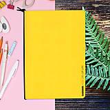 Papiernictvo - MADEBOOK - zošit A5 žltý - 10327620_