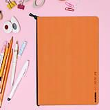 Papiernictvo - MADEBOOK - zošit A5 oranžový - 10327653_