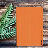 Papiernictvo - MADEBOOK - zošit A5 oranžový - 10327654_