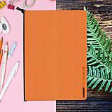 Papiernictvo - MADEBOOK - zošit A5 oranžový - 10327655_