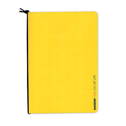 MADEBOOK - zošit A5 žltý