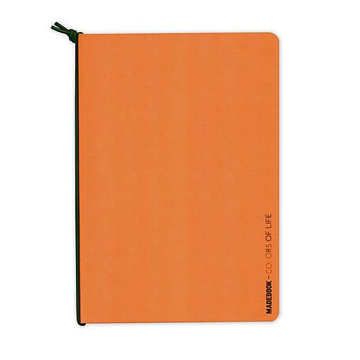 MADEBOOK - zošit A5 oranžový