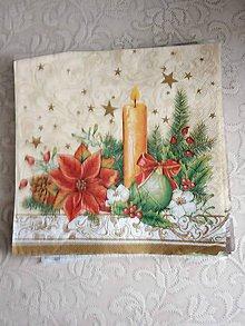 Papier - servítky 1851 Vianoce (1853) - 10326588_