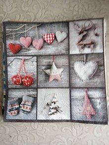 Papier - servítky 1851 Vianoce (1854) - 10326596_
