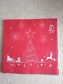 Papier - servítky 1851 Vianoce (1862) - 10326628_