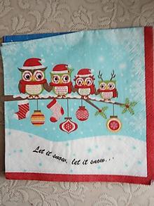 Papier - servítky 1851 Vianoce (1863) - 10326631_