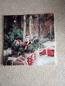 Papier - servítky 1851 Vianoce (1866) - 10326655_