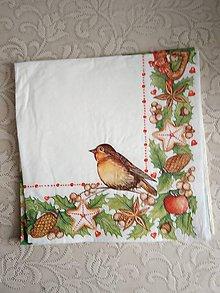 Papier - servítky 1851 Vianoce (1868) - 10326670_