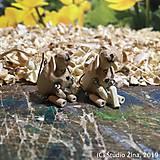 Náušnice - Ovečky na ušká - 10327413_
