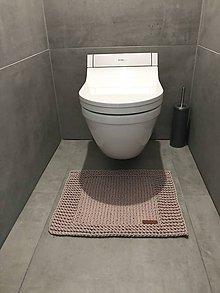 Úžitkový textil - Predložka na toaletu - 10326632_