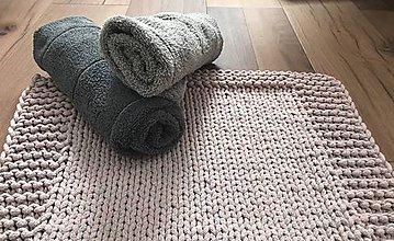 Úžitkový textil - Predložka/koberček do kúpelne - 10326716_
