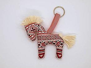 Kľúčenky - kľúčenka (bordová) - 10328055_
