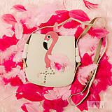 Detské tašky - Plameniačik - 10326677_