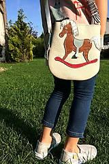 Detské tašky - Koníček (Biela) - 10326722_