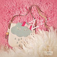 Detské tašky - Spiaci obláčik - 10326521_