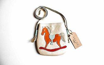 Detské tašky - Koníček (Biela) - 10326725_