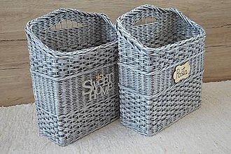 Košíky - košík na noviny a časopisy - 10325791_