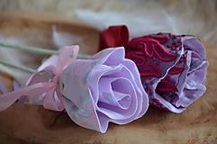 Dekorácie - Kvet ruža noci - 10326441_
