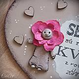 Tabuľky - Sestry v srdci - tabuľka na stenu - 10325936_