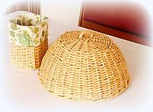 Košíky - Košík - kryt na tanier  - prírodný - 10325707_
