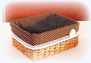 Košíky - Košík romantik na drobnosti - 10325657_