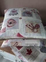 Úžitkový textil - Sada De Sonates (bordová) - 10331143_