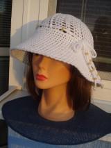 Čiapky - letný  klobučik - 10330373_