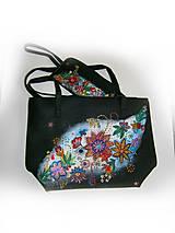 Nákupné tašky - jednoducho mária :-) kabela nákupná a kapsa - 10328725_