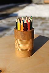 Pomôcky - Stojan na ceruzky - okrúhly 12 - 10331495_