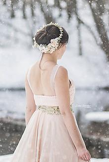 Ozdoby do vlasov - Kvetinový venček - 10331813_