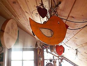 Dekorácie - Vtáčik - dekorácia - 10329993_
