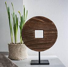 Dekorácie - kruh s otvorom, XS - 10329427_